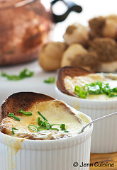 Thumbnail image for Four Hour French Onion Soup, Vegetarian and Gluten Free