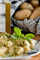 Thumbnail image for Gluten Free Potato Gnocchi with Truffled Pesto Sauce