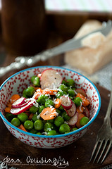 Thumbnail image for Market Fresh Pea, Radish and Carrot Salad