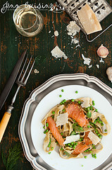Thumbnail image for GF Ratio Rally Makes Pasta – Tagliatelle with Smoked Salmon