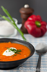 Thumbnail image for Butternut & Red Pepper Soup