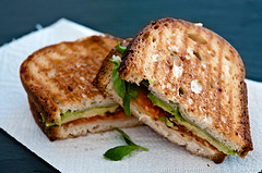 Thumbnail image for Bacon Tomato and Avocado Panini