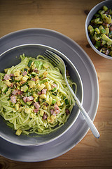 "Thumbnail image for A very green ""carbonara"""